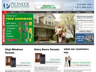 Pioneer Windows and Doors, 4610 Dufferin Street , Unit 210, ON, North York