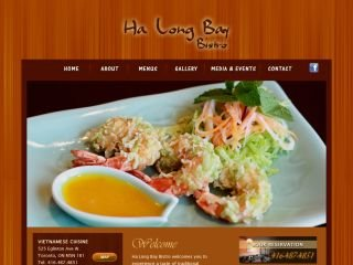 Ha Long Bay Bistro - CLOSED JULY 30Th 2013 , 525 Eglinton Avenue West , ON, Toronto