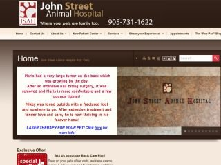 John Street Animal Hospital Prof. Corp., 2300 John St , ON, Thornhill