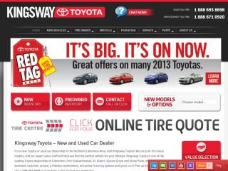 Kingsway Toyota, 12820 97 Street NW , AB, Edmonton