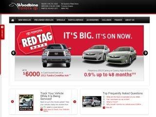 Woodbine Toyota, 80 Queens Plate Drive , ON, Etobicoke