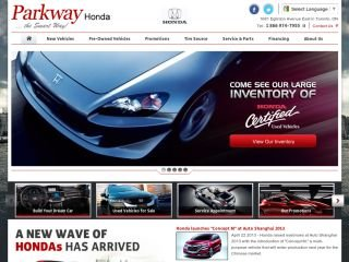 Parkway Honda, 1681 Eglinton Ave East , ON, North York