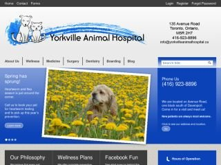 Yorkville Animal Hospital, 135 Avenue Road , ON, Toronto