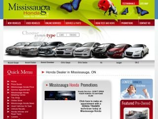 Mississauga Honda, 2380 Motorway Blvd. , ON, Mississauga