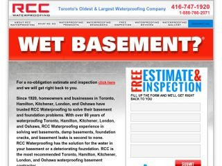 RCC Waterproofing      WET BASEMENT?, 4101 Steeles Avenue West , 201, ON, Toronto