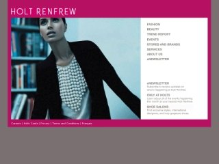 Holt Renfrew, 50 Bloor Street West , ON, Toronto
