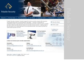Paladin Security Group Ltd., 4664 Lougheed Hwy. , Suite 295, BC, Vancouver
