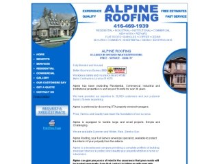 Alpine Roofing, 841 Carlaw Ave , ON, Toronto