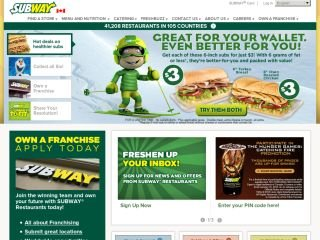 Subway Sandwiches, 1375 Southdown Rd , ON, Mississauga