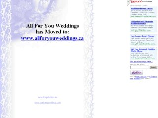 All For You Weddings, 15 Orchard Dr , PE, Stratford