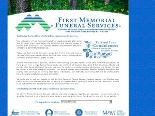First Memorial Funeral Svc, 240 17 Ave SW , AB, Calgary