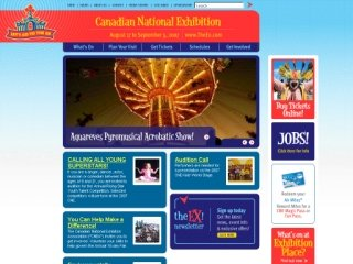 Canadian National Exhibition, 210 Princes' Boulevard , (Administration), ON, Toronto