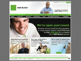 H & R Block Canada Inc, 541 Rue King E , QC, Sherbrooke