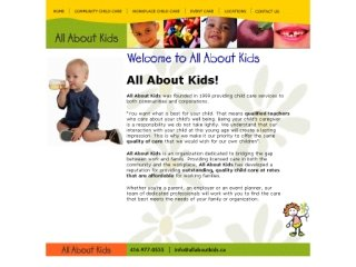 All About Kids, 17 Cornell Meadows , ON, Markham