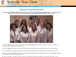 Yorkville Vein Clinic, 1240 Bay Street , Suite 404, ON, Toronto
