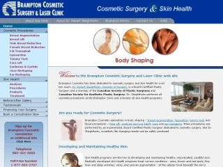 BRAMPTON COSMETIC SURGERY & LASER CLINIC, 145 Queen Street East , Suite 400, ON, Brampton