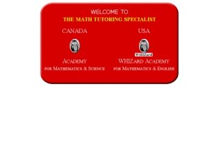 Academy For Math & Science, 700 Lawrence Avenue West , Suite 142, ON, Toronto