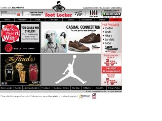 Foot Locker, 1000 Fort William Rd , ON, Thunder Bay