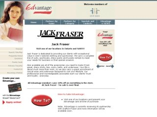 Jack Fraser Men's Wear, 25 Peel Centre Dr #29 , ON, Brampton