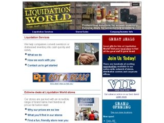 Liquidation World Inc, 544 Bayfield St , ON, Barrie