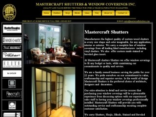 Mastercraft Shutters, 3640 Weston Rd , ON, North York