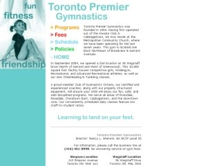 Toronto Premier Gymnastics, 115 Simpson Avenue , ON, Toronto