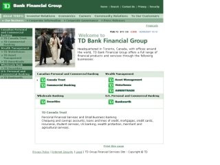 TD Bank Financial Group, 4424 Queen St , ON, Niagara Falls