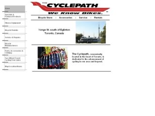 Cyclepath, 5330 Yonge St , ON, North York
