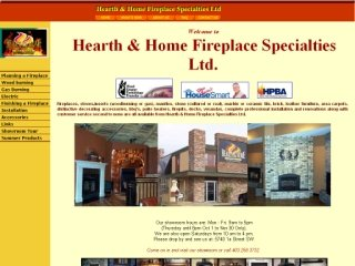 Hearth &amp; Home Fireplace Specialties Ltd., 5740 1a Street SW , AB, Calgary