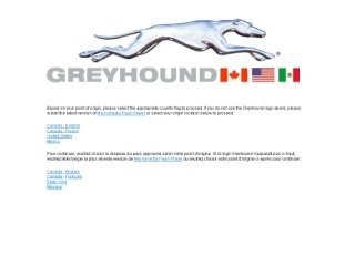 Greyhound Canada, 610 Bay St , ON, Toronto