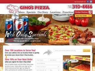 Gino's Pizza, 2157 Royal Windsor Dr , ON, Mississauga