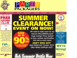 Party Packagers, 40 Kingston Road East , Unit 108, ON, Ajax