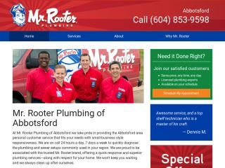 Mr Rooter Plumbing, 4207 Wright Street , BC, Abbotsford