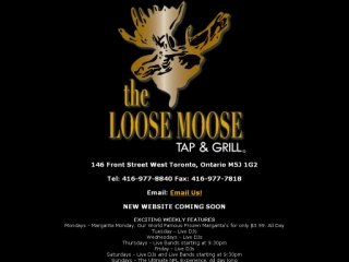 The Loose Moose Tap and Grill, 146 Front Street West  , ON, Toronto