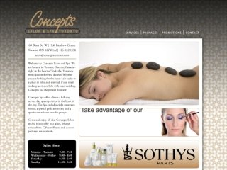 Concepts Salon & Spa, 60 Bloor Street West , ON, Toronto