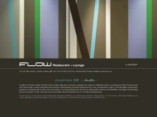 Flow Restaurant & Lounge, 133 Yorkville Avenue , ON, Toronto