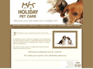 Holiday Pet Care, 8234 Yonge Street , ON, Thornhill