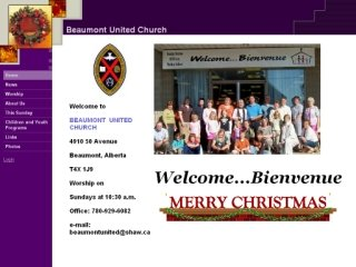 Beaumont United Church, 4910 50 Ave , AB, Beaumont