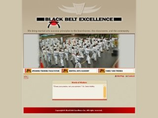 Black Belt Excellence Martial Arts Academy, 62 Stonehaven Drive , Unit A, ON, Kanata