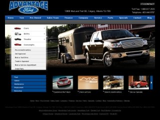 Advantage Ford Sales Ltd., 12800 Macleod Trail SE , AB, Calgary