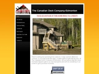 Canadian Deck &amp; Railing, 14303-87 ave , AB, Edmonton