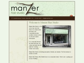 Manzer Hair Studio, 2171 Danforth Ave , ON, Toronto
