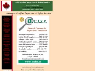 ACISS Home &amp; Commercial Inspections, 5475 Lakeshore Re , Suite 44, ON, Burlington