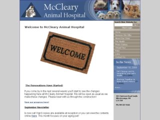 McCleary Animal Hospital, 981 Clarkson Road South , ON, Mississauga