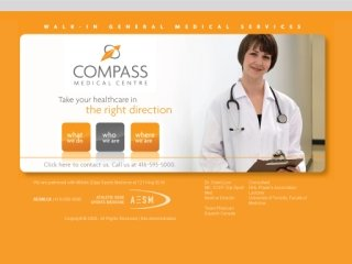 Compass Medical Centre, 200 Wellington Street W Metro Centre, Concourse Level , 205 - PO Box 162, ON, Toronto