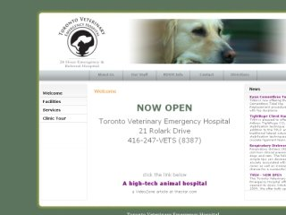 Toronto Veterinary Emergency Hospital, 21 Rolark Dr , ON, Scarborough