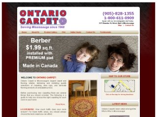 Ontario Carpet, 2273 Dundas Street West , Unit 4, ON, Mississauga