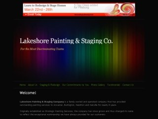 Lakeshore Painting & Staging Company, 111 Market Street , 108, ON, Hamilton