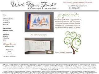 With Your Touch Invitations, 1021 16th ave SW , 202, AB, Calgary