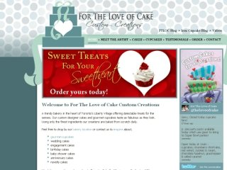 For The Love of Cake Custom Creations, 171 East Liberty St  , unit 117, ON, Toronto